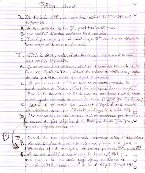Les lycéens et la composition d'histoire-géographie - Les ...