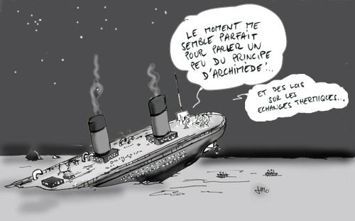 La revue de presse en dessins semaine du 23 f vrier au 1er les cahiers p dagogiques - Dessin du titanic ...