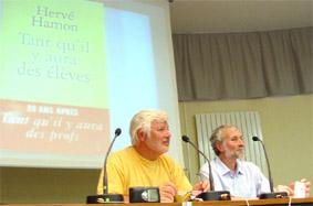 Hervé Hamon aux Rencontres du CRAP