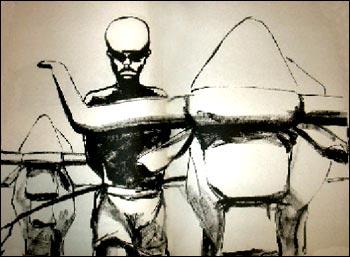 © Seuil jeunesse 1994, illustration de Thierry Dedieu