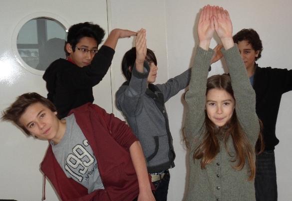 Benjamin, Xiang, Vladimir, Malakéna et Maxime