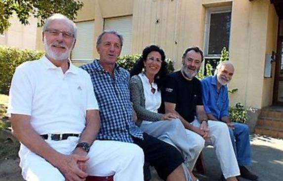 L'équipe de Réunir -Photo Véronique Parayre dans l'Inddépendant