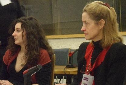 Lucie Caron et Agnès Pirès