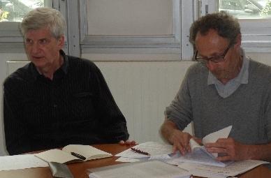 Daniel Blondet et Jean-Claude Emin