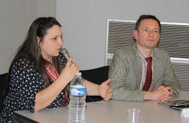 Claudie Paillette et Nicolas Feld