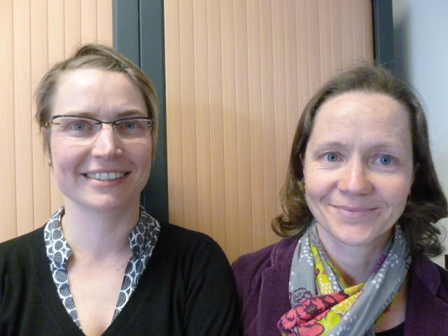 Sabine Babin et Claire Abed