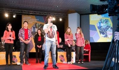 Les jeunes présentent leurs projets
