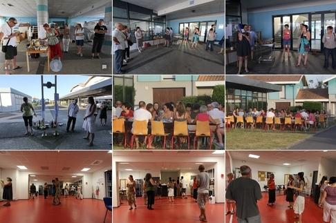 Travail et convivialité lors des Rencontres d'été de 2012