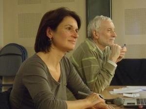 Sandrine Nicourd et Jean-Michel Zakhartchouk