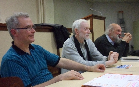 Yves Lecocq, Jean-Michel Zakhartchouk et Jean-Luc Villeneuve. ©DR