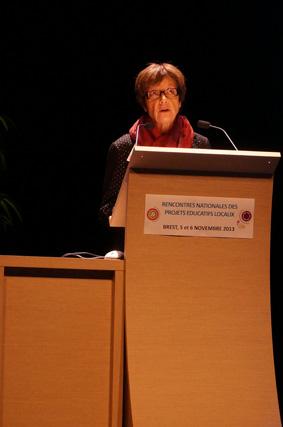 Josiane Ricard, présidente de la Fédération nationale des Francas.
