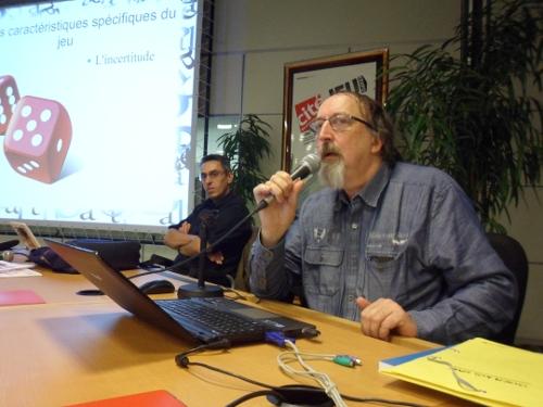 Marc Berthou et Dominique Natanson