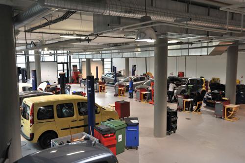 L'atelier de mécanique