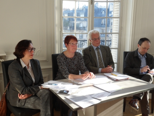 Maya Akkari, Claire Krepper, Jean-Pierre Obin et Thierry Pech