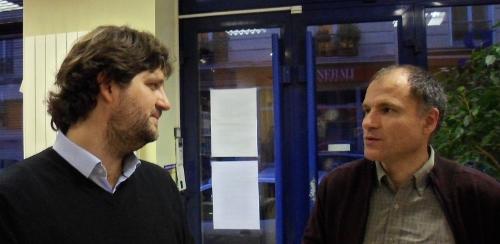 Martin Ferronière et Patrice Bride