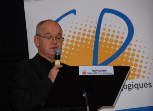 Philippe Watrelot, président du CRAP-Cahiers pédagogiques