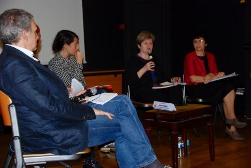 Philippe Pradel, Eunice Mangado, Françoise Lantheaume, Florence Castincaud