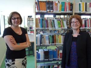 Emmanuelle Mathevon et Nicole Siebert