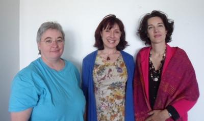 Marianne Souchon, Nicole Pellegrin et Sonia Leverd