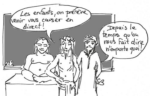 Le dessin de Geneviève Brassaud