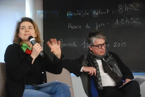 Nathalie Mons et Roger-François Gauthier