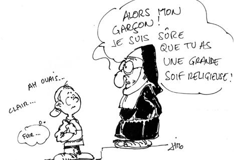 Le dessin de Jean-Marie Olaya