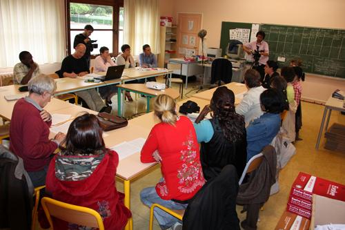 Rencontre parents-enseignants, 20 juin 2011