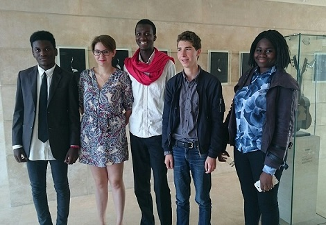 Les membres franciliens du Conseil d'administration de la FMDL