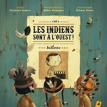 Couverture du livre-CD, illustrée par Etienne Friess