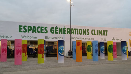 Espaces Générations Climat au Bourget - Photo Catherine Chabrun