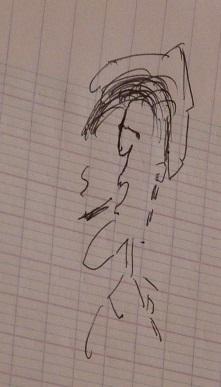 On dessine un cow-boy
