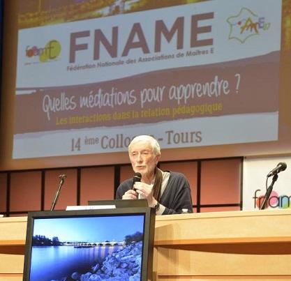 Jean-Michel Zakhartchouk au colloque de la FNAME
