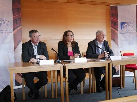 Xavier Nau, Agnès Popelin et Gérard Aschieri