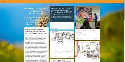 Tumblr du réseau des documentalistes