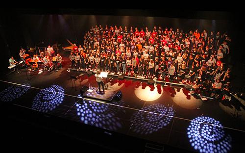Chorale des collèges du nord des Deux-Sèvres, concert à Bressuire le 8 juin 2017
