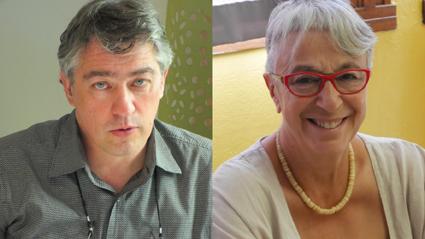 Yannick Mével et Dominique Seghetchian