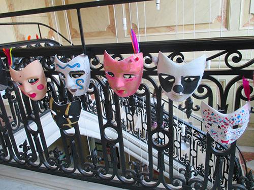 L'exposition des masques