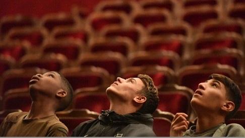 Au théâtre de l'Odéon