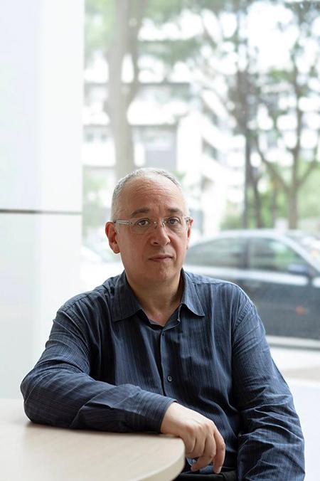 Photo de Bernard Lahire par Bénédicte Rosco