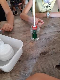 Atelier sur la montée des océans avec les enfants